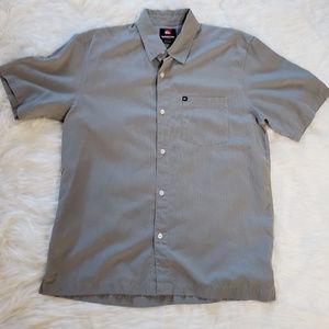 Quicksilver men's short sleeved Shirt.